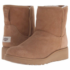 UGG KRISTIN WATER RESISTANT SUEDE BOOTS NEW!